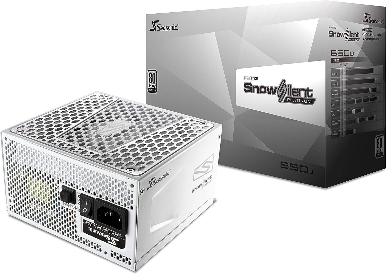 Seasonic Prime Snow Silent 650 Platinum Ssr 650pd2 650 Computer Zubehör