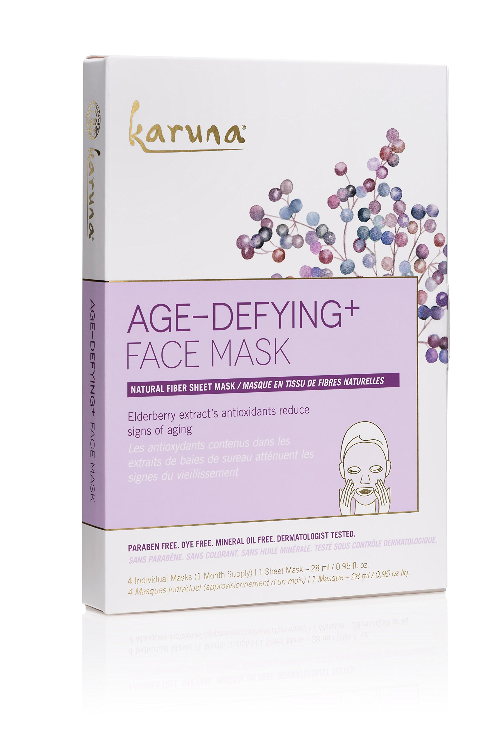 Karuna Age-Defying+ Face Mask Box, 4 CT