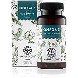 Omega 3 capsule di olio di alghe – qualità premium: Omega3 da Olio di Alghe Puro. Senza Olio di Pesce. 120 capsule. Con acidi grassi essenziali EPA e DHA. Vegan, alto dosaggio e prodotto in Germania