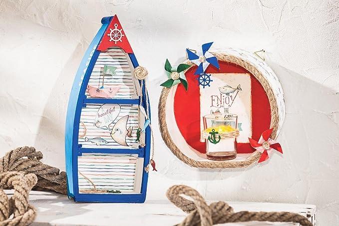 VBS Fischerboot, aus Rohholz, Höhe ca. 26,5 cm: Amazon.de: Spielzeug