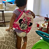 a4c8fe9a6 Amazon.com: Disney Minnie Mouse Backpack for Kids: Toys & Games