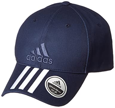 Adidas Men Six-Panel Classic 3-Stripes Cap - Collegiate Navy White ... 563352f42dc