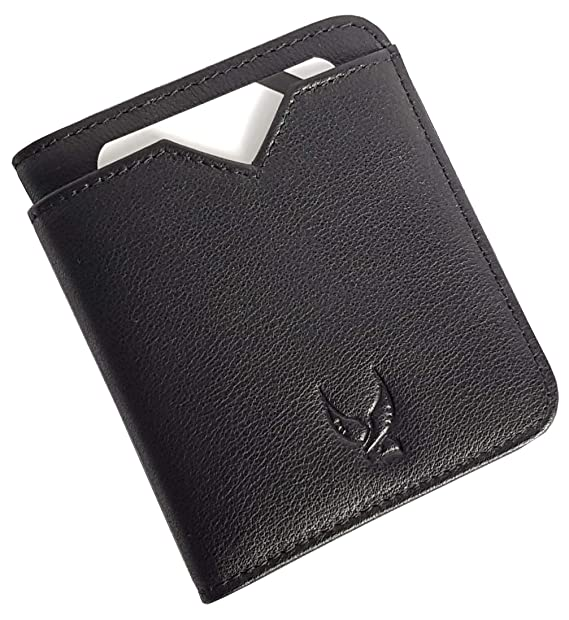 afcd0b8e41d6 Falcon Vault - RFID Blocking Bifold Men's Wallet - Slim Genuine Italian  Leather Wallet for Men – 13.56 MHz RFID Protection - Compact Design - Hold  ...