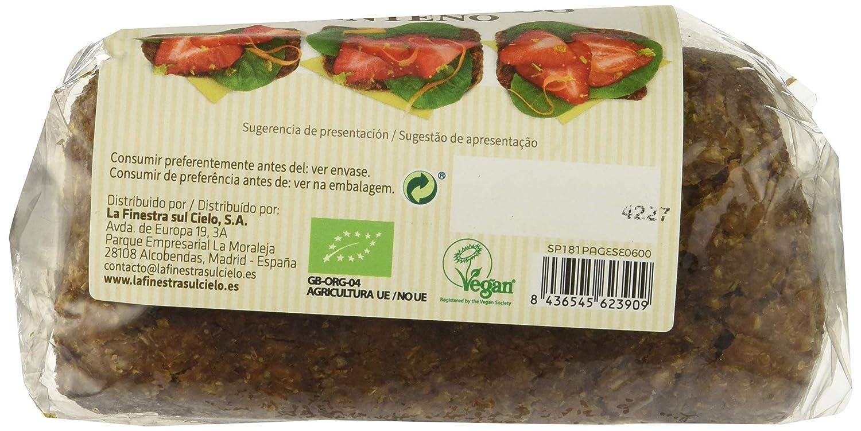 Pan germinado de centeno - La Finestra Sul Cielo - caja de 8 uds ...