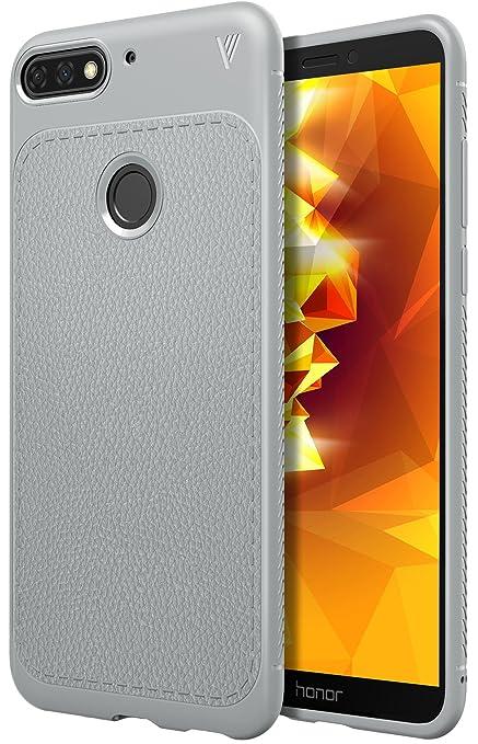 selezione migliore 7436c 820db iBetter Honor 7A Custodia, Cover Honor 7A, Honor 7A Protettiva Custodia,  Protezione Durevole, Compatibilita esatta per la Honor 7A  Smartphone.(Grigio)