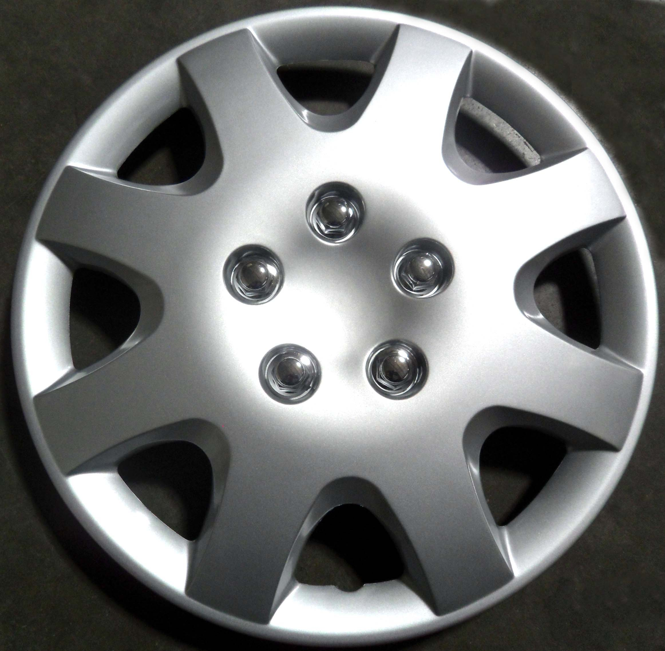 AutoSmart Drive Accessories KT-895-15S/L, Honda Civic, 15'' Silver Replica Wheel Cover, (Set of 4)
