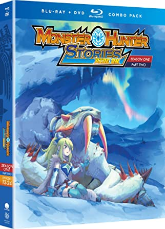 Amazon Com Monster Hunter Stories Ride On Season One Part Two