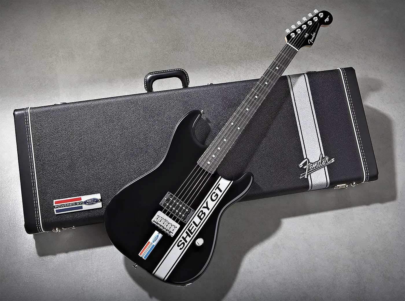 Shelby GT Fender Stratocaster - Guitarra y funda (37 de 200 ...