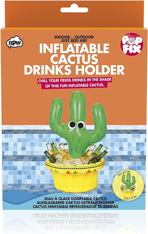 Amazon.com: Pop Fix Inflatable Cactus Drinks Holder: Kitchen ...