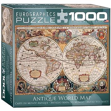 Eurographics antique world map puzzle 1000 piece jigsaw puzzles eurographics antique world map puzzle 1000 piece gumiabroncs Choice Image