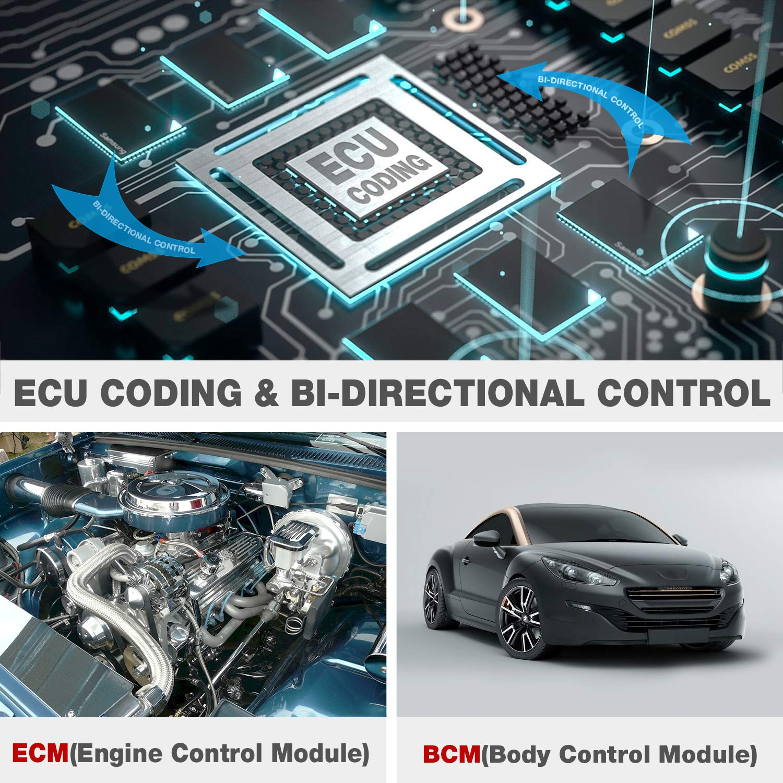 Amazon.com: LAUNCH X431 PRO Mini Bi-Directional Diagnostic Tool Full Systems OBD2 Scanner IMMO Reset Key Progm ECU Coding (Upgraded PROS Mini)-Free Update 2 ...