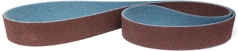 1 St/ück K/örnung: fein P180-P240 Score Abrasives Pro Line Vlies-Schleifband//Vliesband // gr/ün 50 x 2000 mm