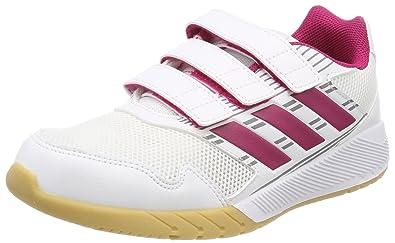 adidas Mädchen AltaRun CF K Laufschuhe, Pink (Weiãÿ/Pink Ftwwht/Bopink/Midgre), 40 EU