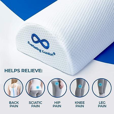 Amazon.com: Everlasting Comfort - Almohada para piernas, 100 ...