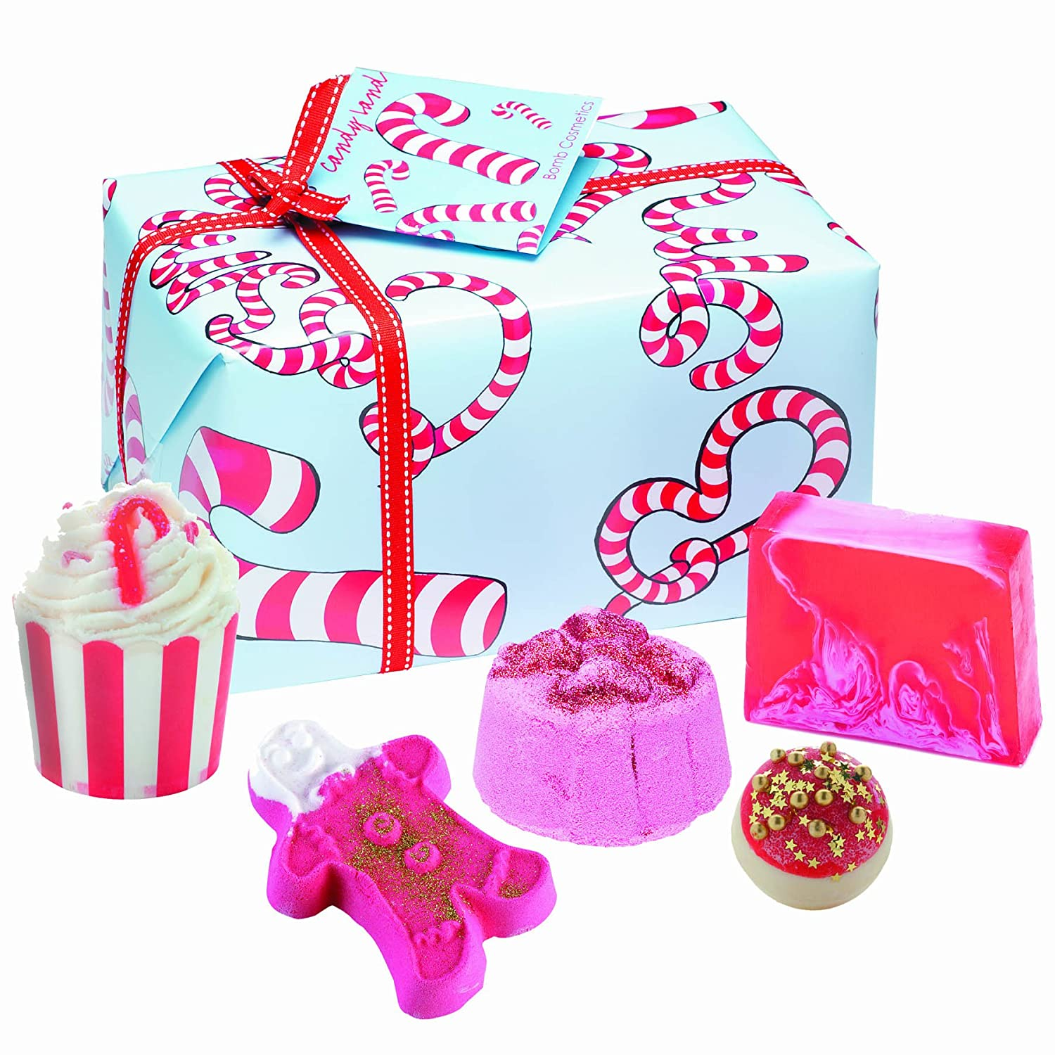 Bomb cosmetics candy land handmade gift pack amazon beauty negle Image collections