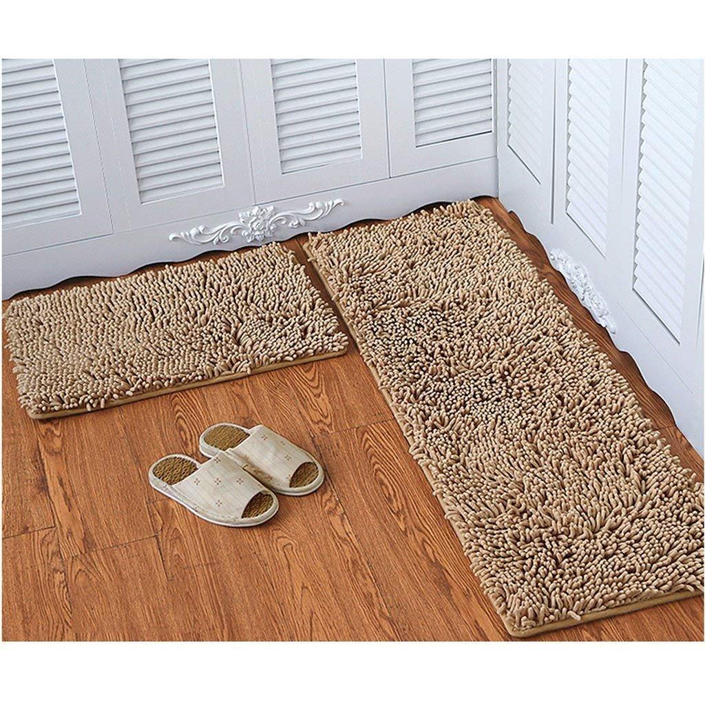 JU Chenille Matratze Tür Matratzen Matratzen Matratzen Schlafzimmer Tür Anti-Skid Pad Bad Küche Wasser Matte Mat Tür Matte B07FZTBWLF | Elegantes und robustes Menü  fef094