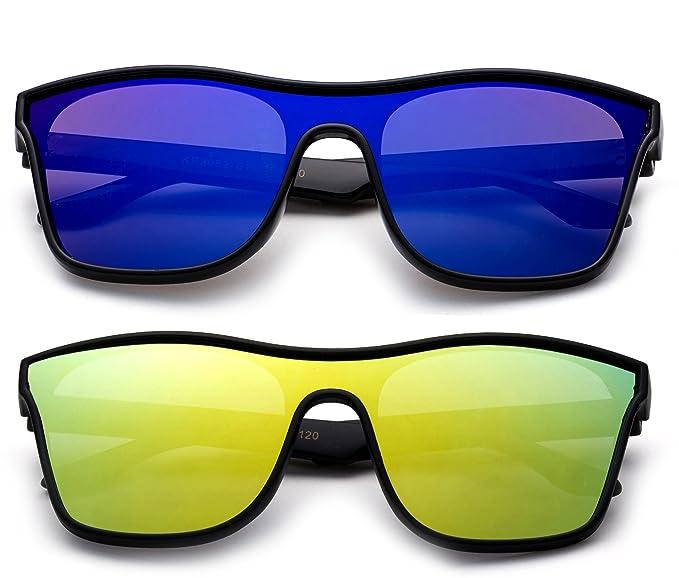 Amazon.com: NEWBEE Fashion – Los niños Escudo anteojos de ...