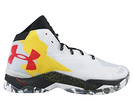 6a0471929f049b Under Armour Curry 2.5 scarpe basket da uomo bianche-42: Amazon.co ...