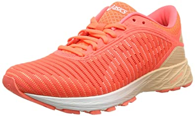 buy online 6626d 5ebe0 ASICS Women's Dynaflyte 2, Flash Coral/White/Apricot ICE, 8 B(M) US