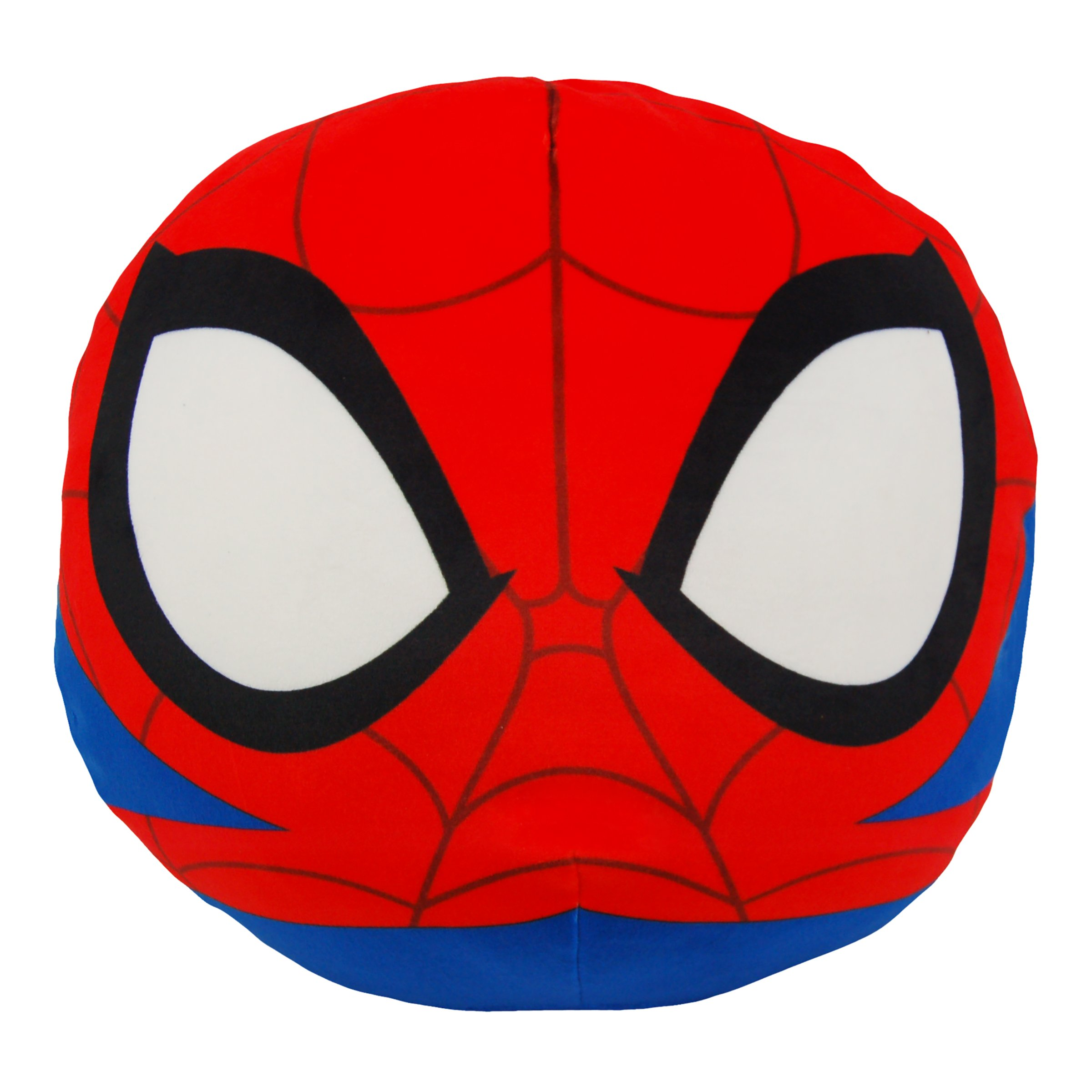 "Marvel Spider-Man, ""Spider-Man"" 3D Ultra Stretch Cloud Pillow, 11"" Round, Multi Color"