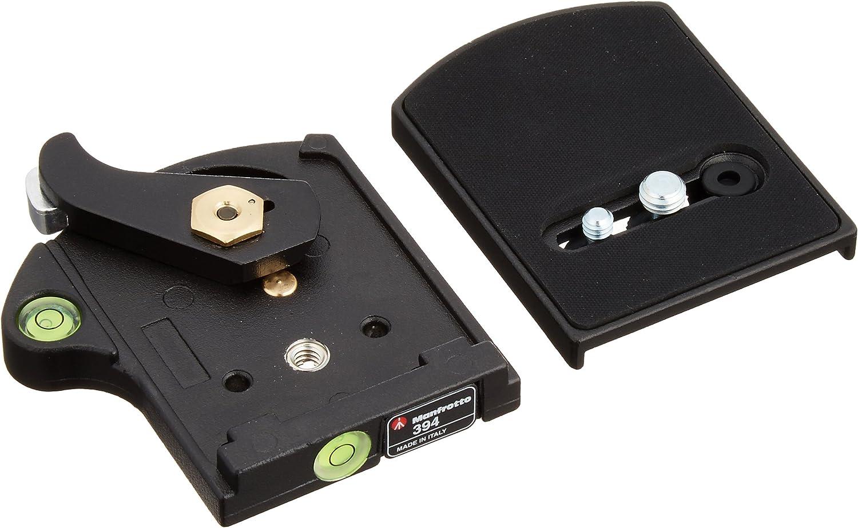 Für Manfrotto 401PL Low Profile Schnellwechsel Adapterplatte   RC4 Kompatibel
