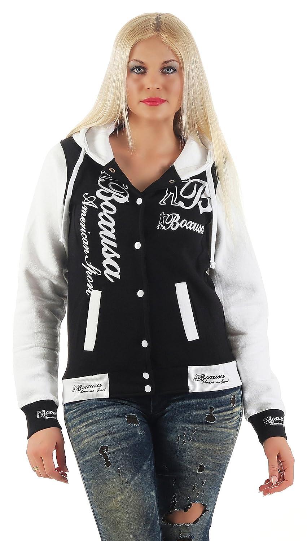 Giacca da donna CBKTTRADE Old School College Jacket giacca felpa con cappuccio Boxusa Fox