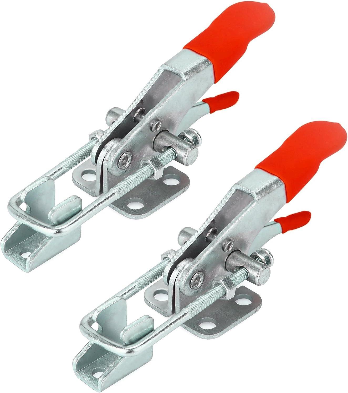 Anndason The Latest Adjustable Self-Locking Buckle Toggle Latch Clamp 4012 6PCS