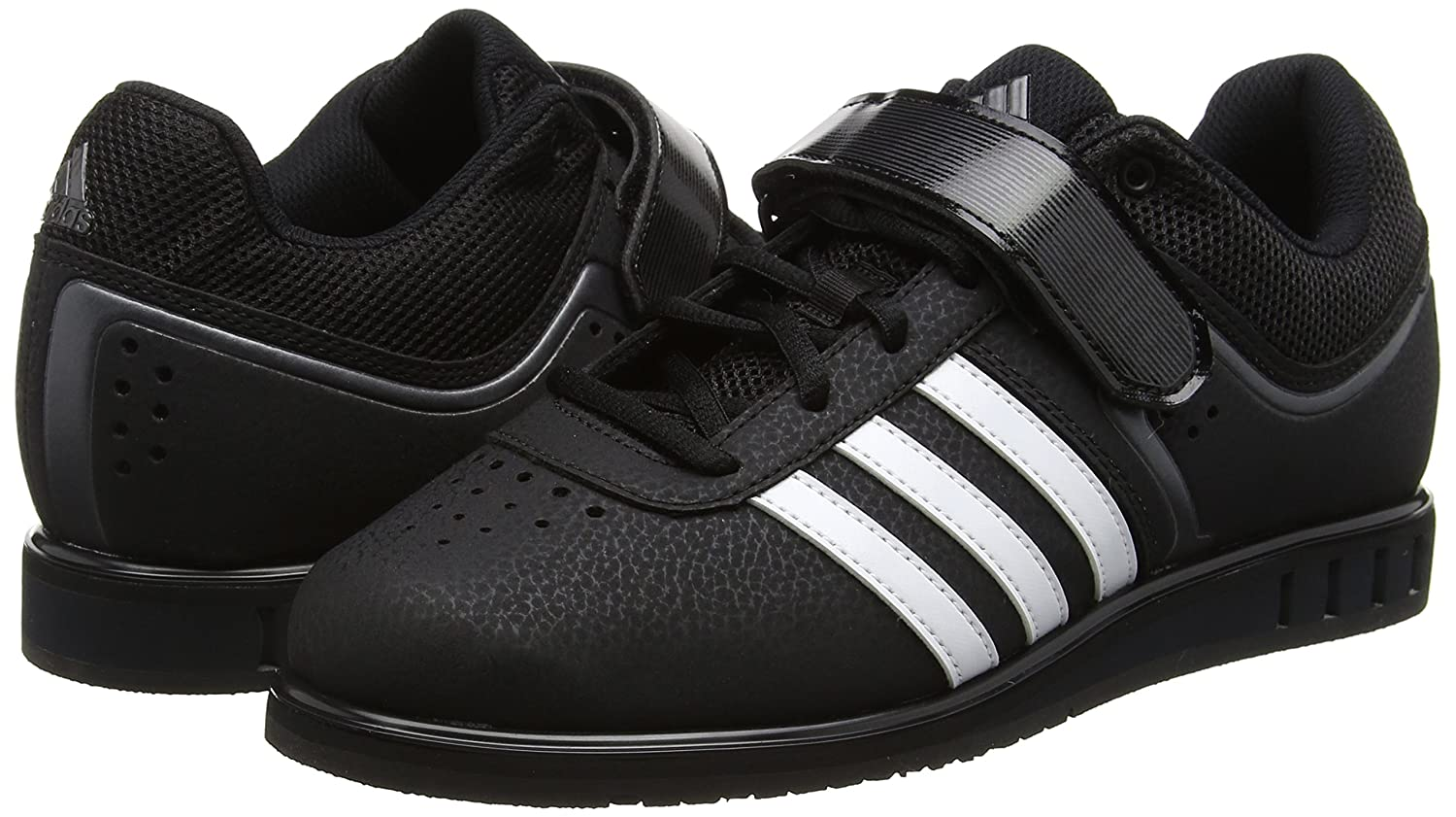 4cc2eeb965ba Amazon.com | Adidas Powerlift 2.0 Mens Weight Lifting Shoes - Black-UK 13 |  Shoes