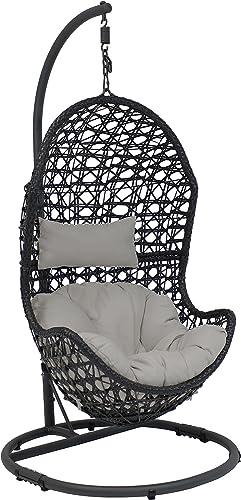 Sunnydaze Cordelia Hanging Egg Chair Swing