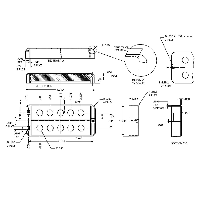 Seymour Duncan Smb 5d 5 String Ceramic Music Man Pickup Aguilar Preamp Wiring Diagram Musicman New Musical Instruments