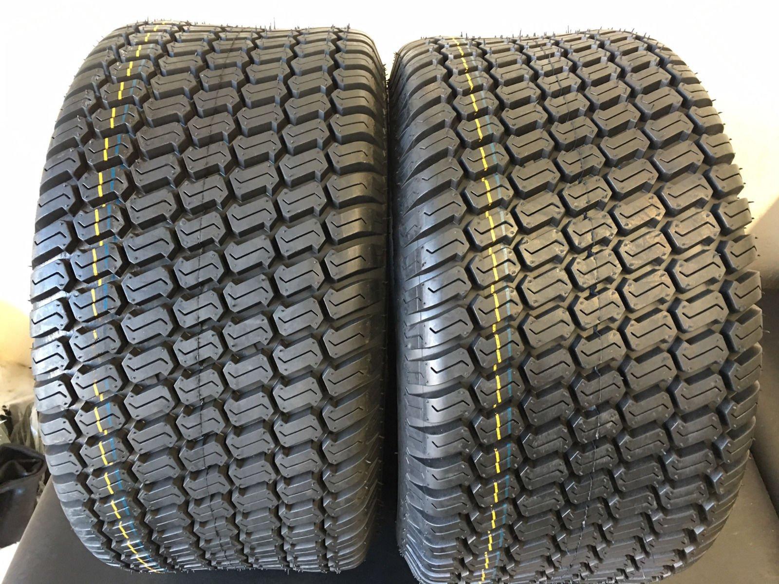 TWO 23/10.50-12 Lawnmower/Golf Cart Turf Tread tires