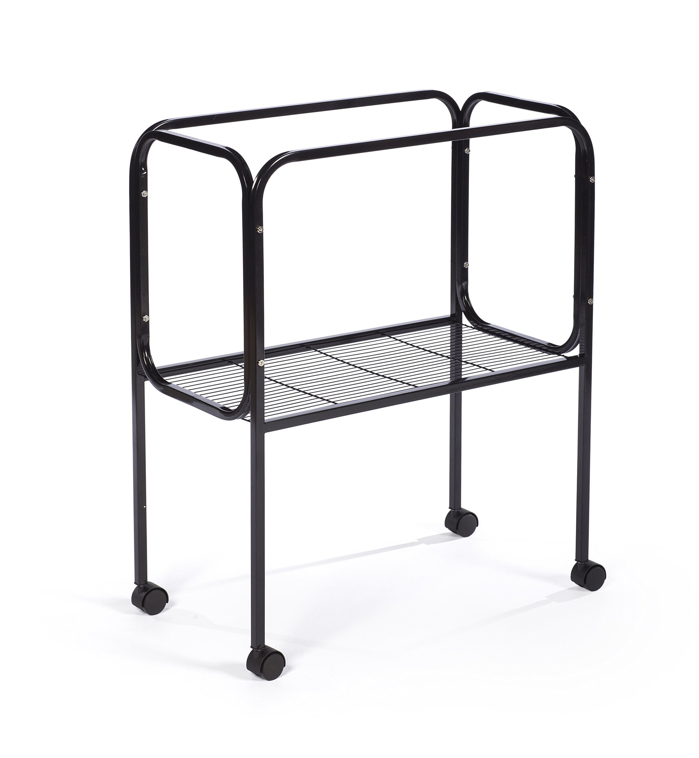 Prevue Pet Products 446 Bird Cage Stand for 26'' x 14'' Base Flight Cages, Black