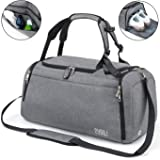 Sports Gym Bag with Shoes Compartment/Wet Pocket,42L Travel Duffel Bag with Shoulder Strap