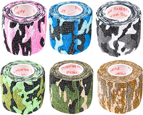 4 ROLLS Colorful and durable Vet Wrap