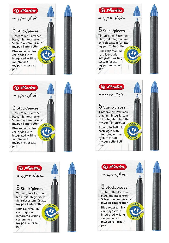 Tintenpatronen Herlitz My Pen Ersatzpatronen für Füller /& Roller
