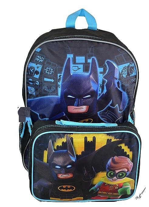 LEGO Batman gran mochila con almuerzo Kit