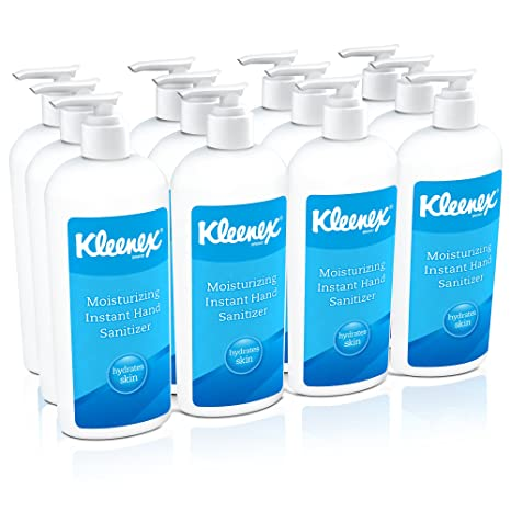 Amazon Com Kleenex Moisturizing Instant Hand Sanitizer 31294