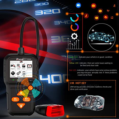 This OBD2 code reader is perfect for a car owner. It allows you to identify minor engine problems by yourself.