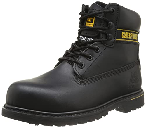 Cat Footwear Holton Mens Safety Boots Amazoncouk Shoes Bags