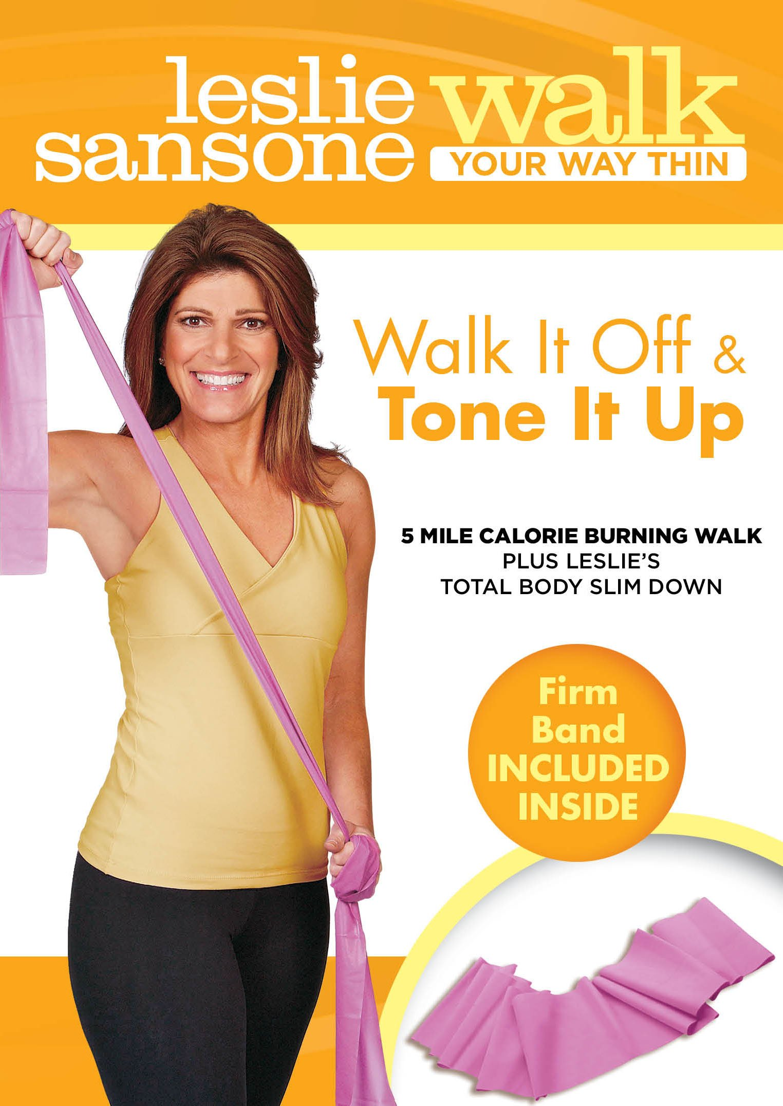 Leslie Sansone: Walk It Off & Tone It Up by Anchor Bay Entertainment