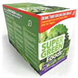 Super Green Foods Packets 30 Day Supply, TruBaio Vitamins, Minerals and Support Nutrients with Enzymes and Micro-Nutrients