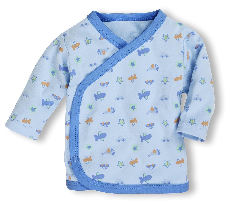 Schnizler Unisex Baby Hemd Wickelshirt, Flügelhemd, Erstlingshemd Langarm, Oeko Tex Standard 100 Flügelhemd Playshoes GmbH 800206