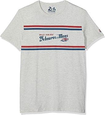 Springfield 10LC Lemans Camiseta, Gris (Gama Grises 42), Small ...