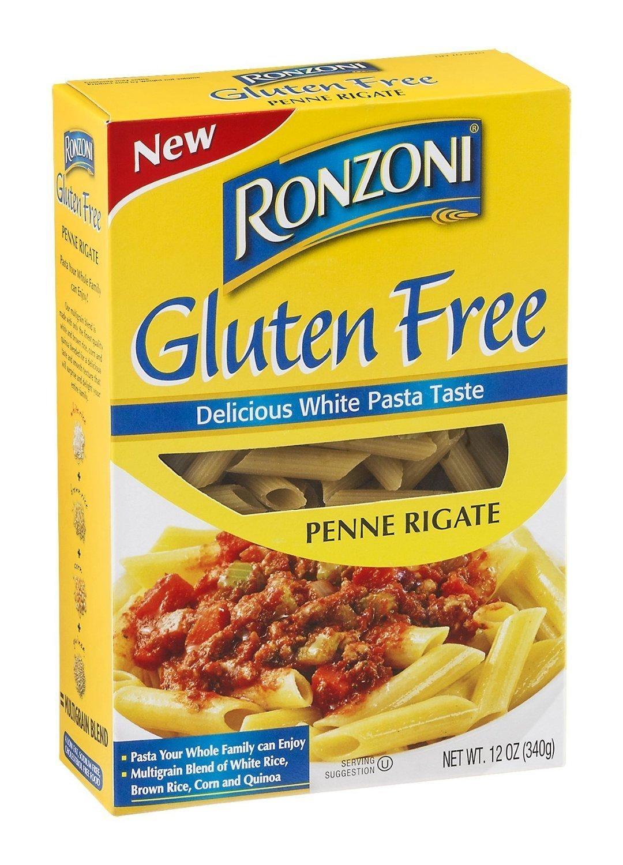 Ronzoni Gluten Free Penne Rigate Pasta (3 Pack)
