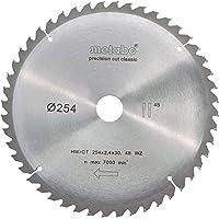 metabo 628061000 Cirkulär Sågblad HW/CT, Silver, Ø 254