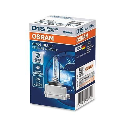Osram 66140CBI Xenarc Cool Blue Intense D1S Xenon Headlight Lamps: Automotive