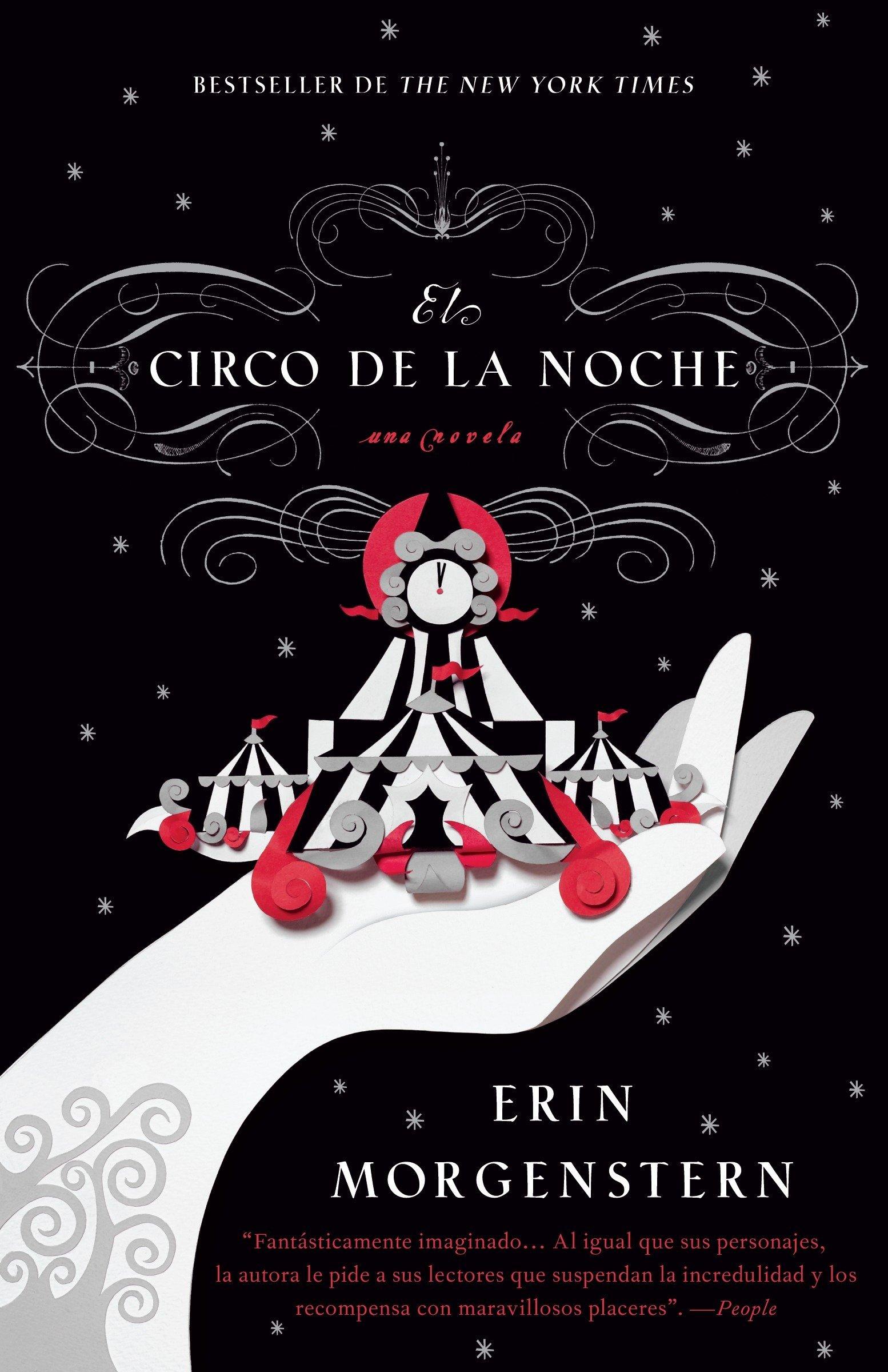 El circo de la noche (Spanish Edition): Erin Morgenstern ...