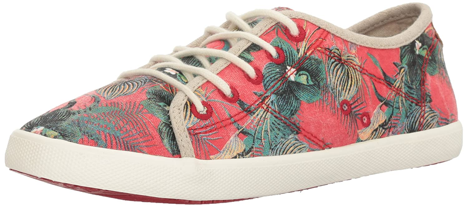 Roxy Women's Memphis Lace up Shoe Fashion Sneaker B01LBBOXRM 8 B(M) US|Remedy Print
