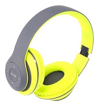Moveteck Auriculares Bluetooth micrófono MP3 MicroSD Radio FM para Smartphone Tablet m-tk k3556: Amazon.es: Electrónica