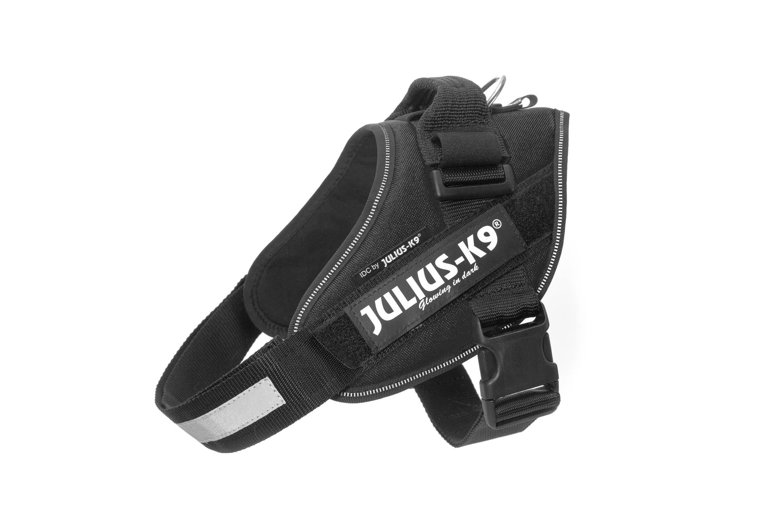 Julius-K9, 16IDC-P-0, IDC Powerharness, dog harness, Size: 0, Black